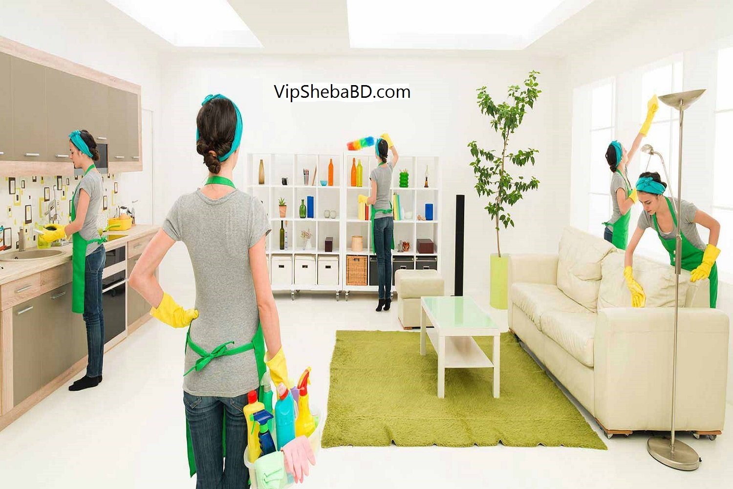 Home cleaning service inBangladesh