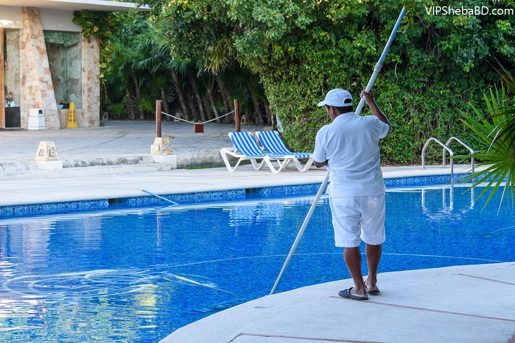 Pool cleaning services In Dhaka